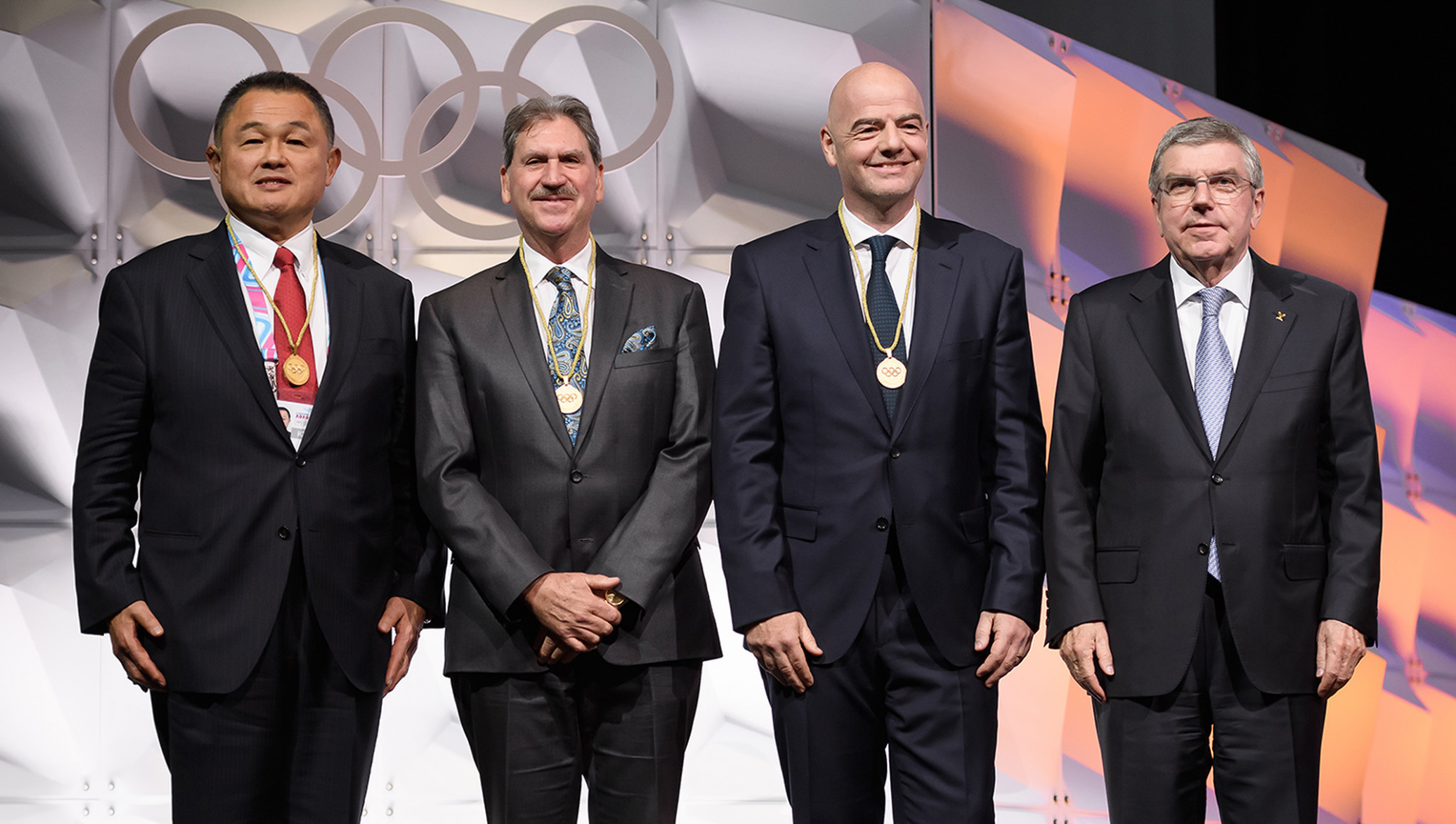 Infantino among new members elected at IOC Session