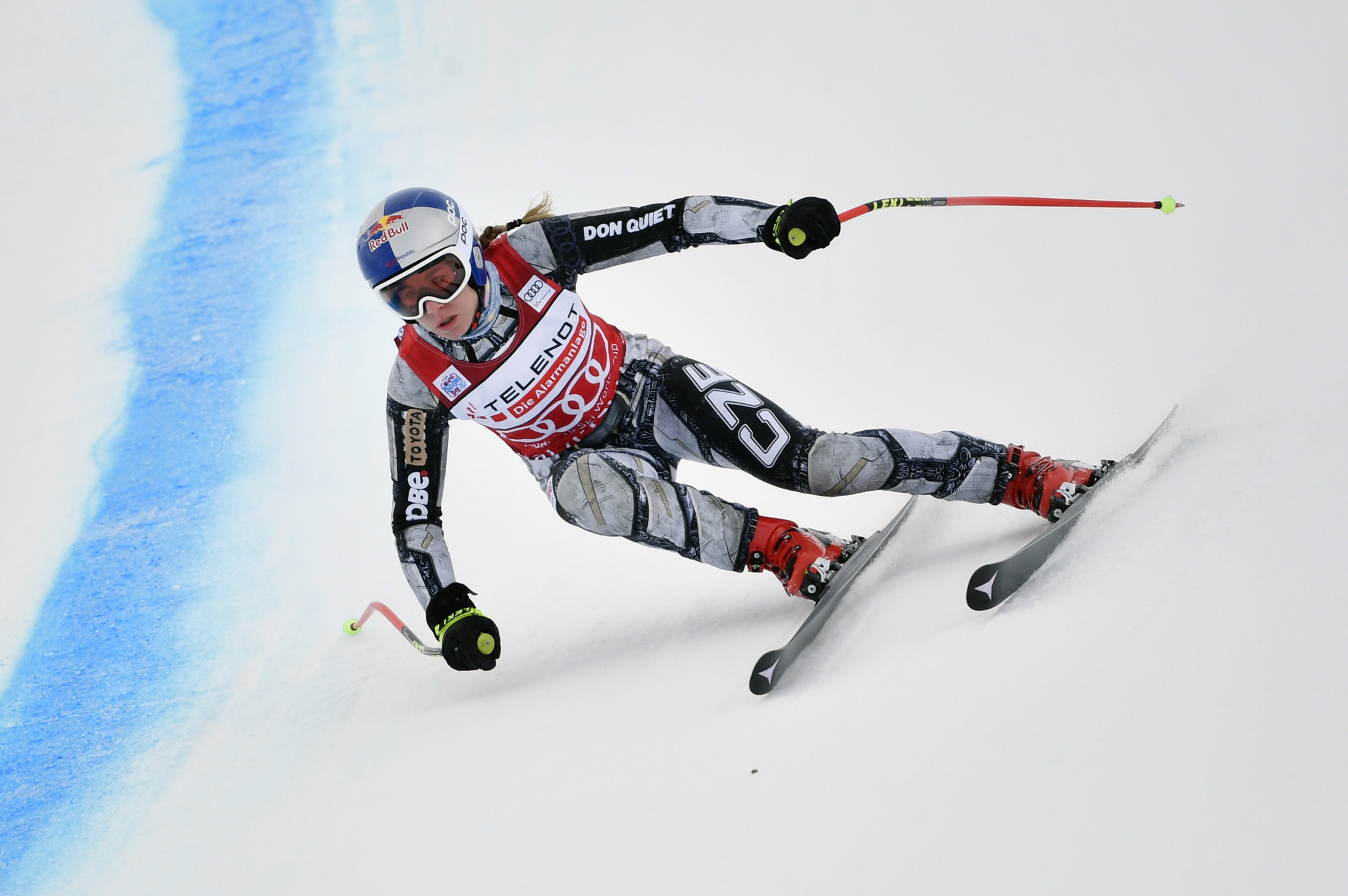 Ledecká in fine downhill shape, as Vlhova plans for Alpine Combined at FIS World Cup