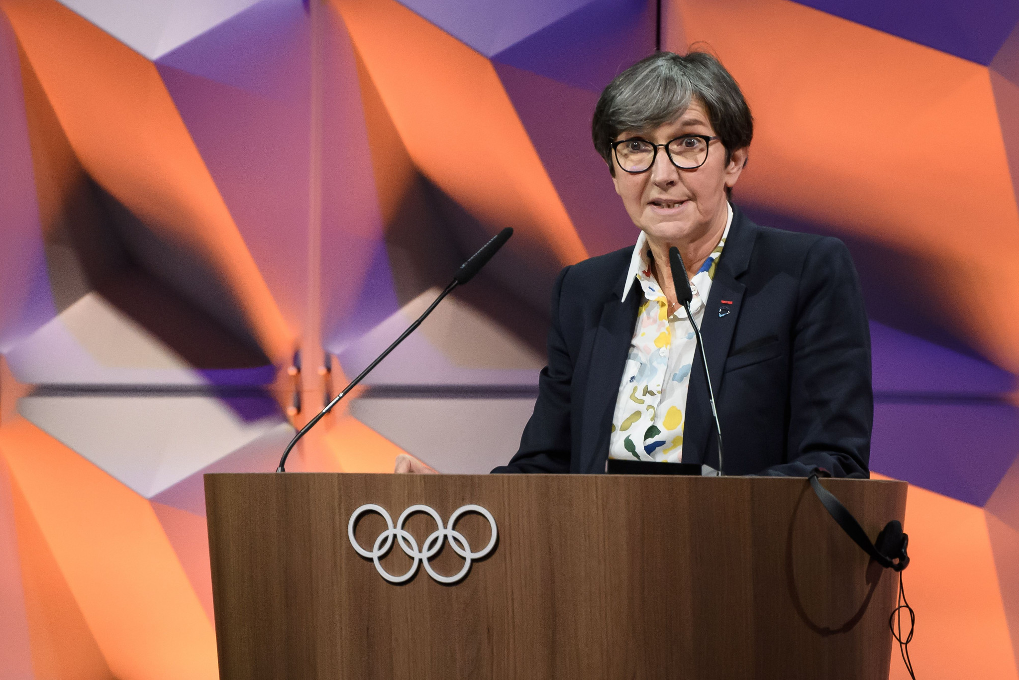 ITA chair Valerie Fourneyron gave an update on testing plans for Lausanne 2020 and Tokyo 2020 ©IOC