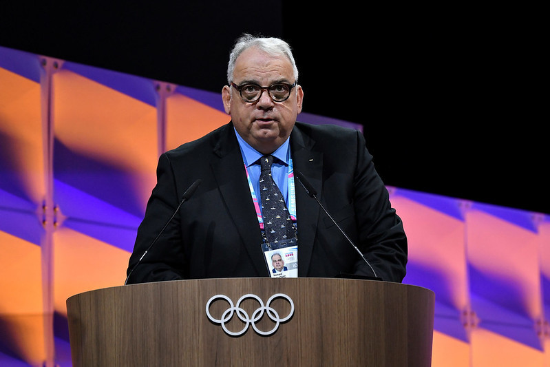 Nenad Lalovic presented a bleak picture of the lack of progress made by AIBA ©IOC