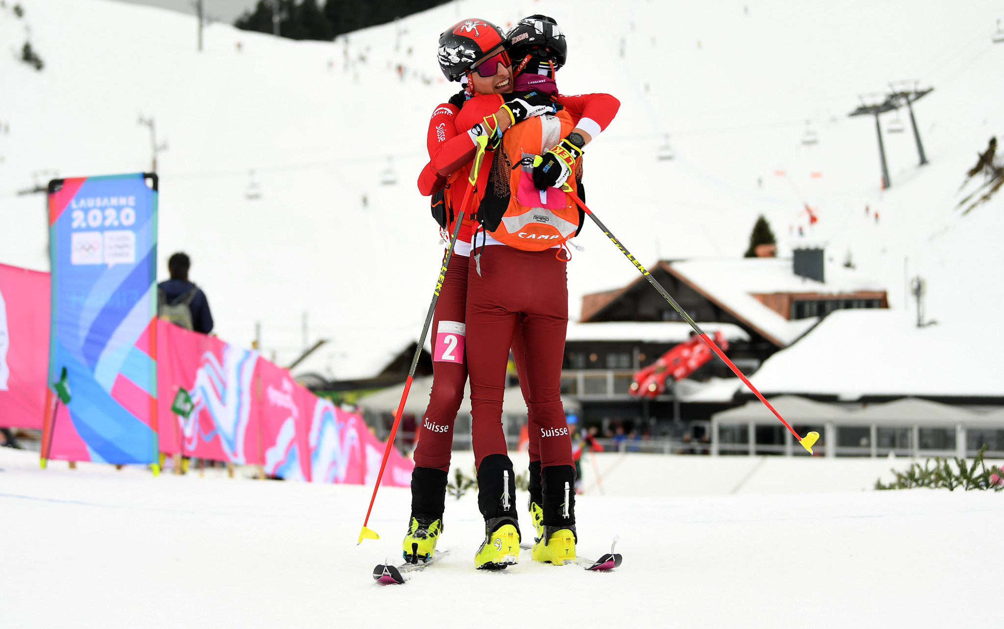 Bussard twins win ski mountaineering silver and gold at Lausanne 2020