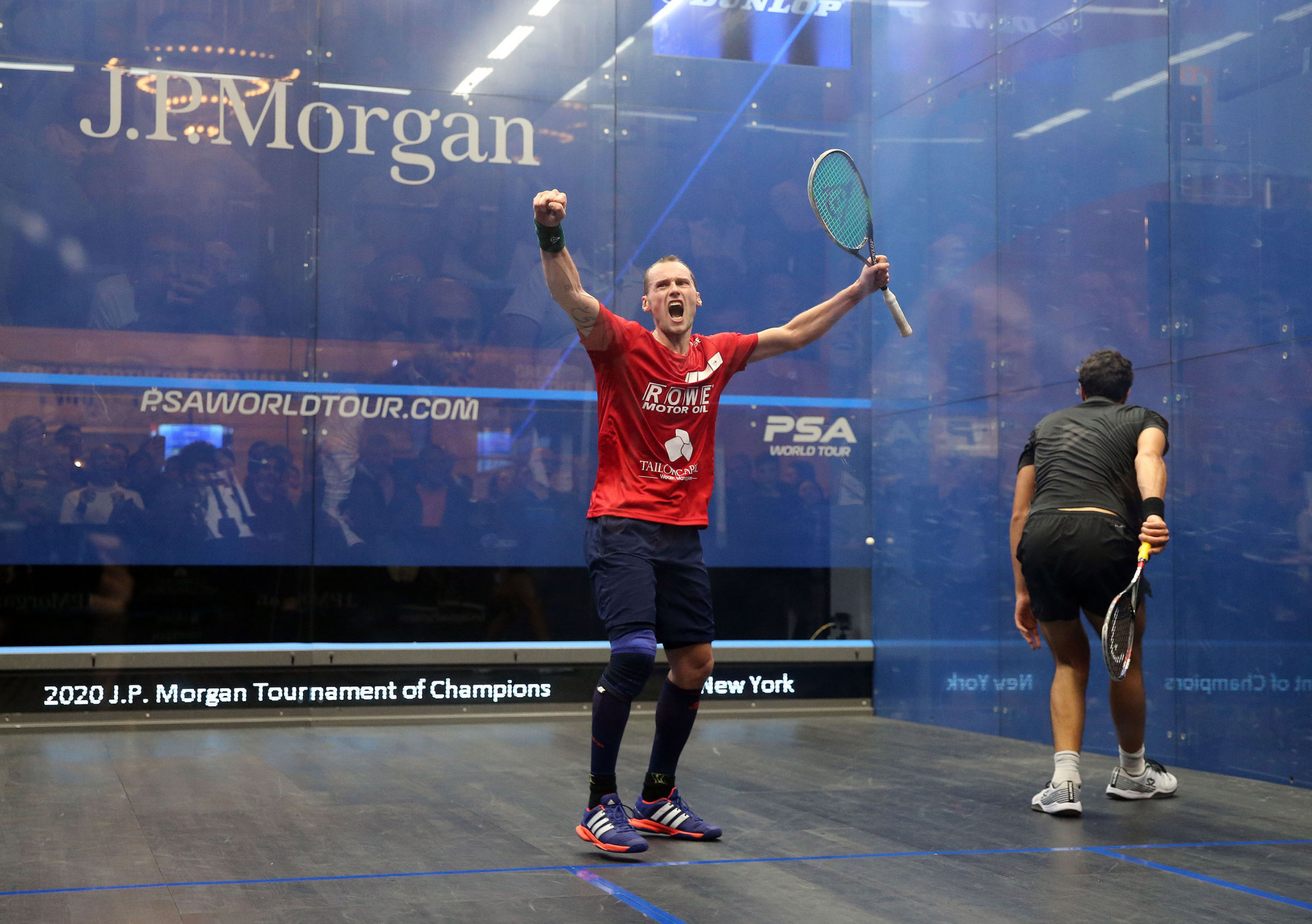 Gaultier, 37, beats world number three in PSA World Tour comeback