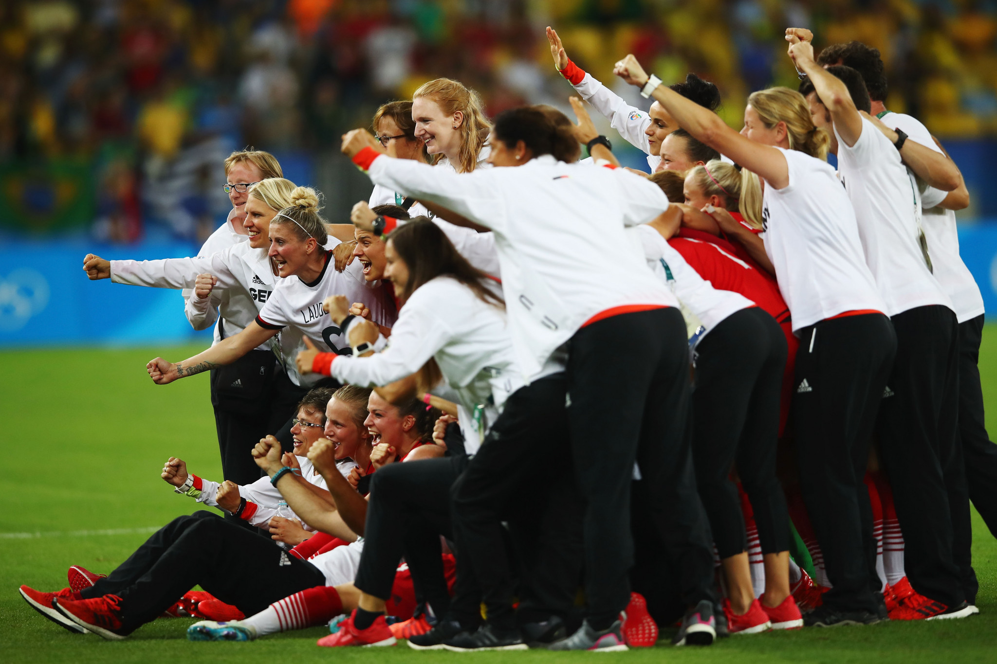 Germany won Olympic women's football gold at Rio 2016 ©Getty Images