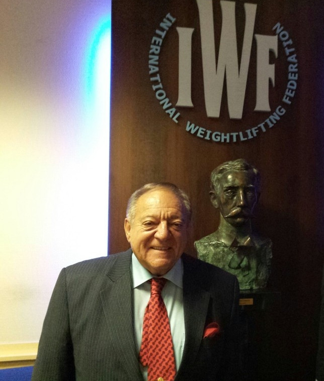 IWF President Tamás Aján has spoken up about alleged corruption in weightlifting, claiming slander ©IWF