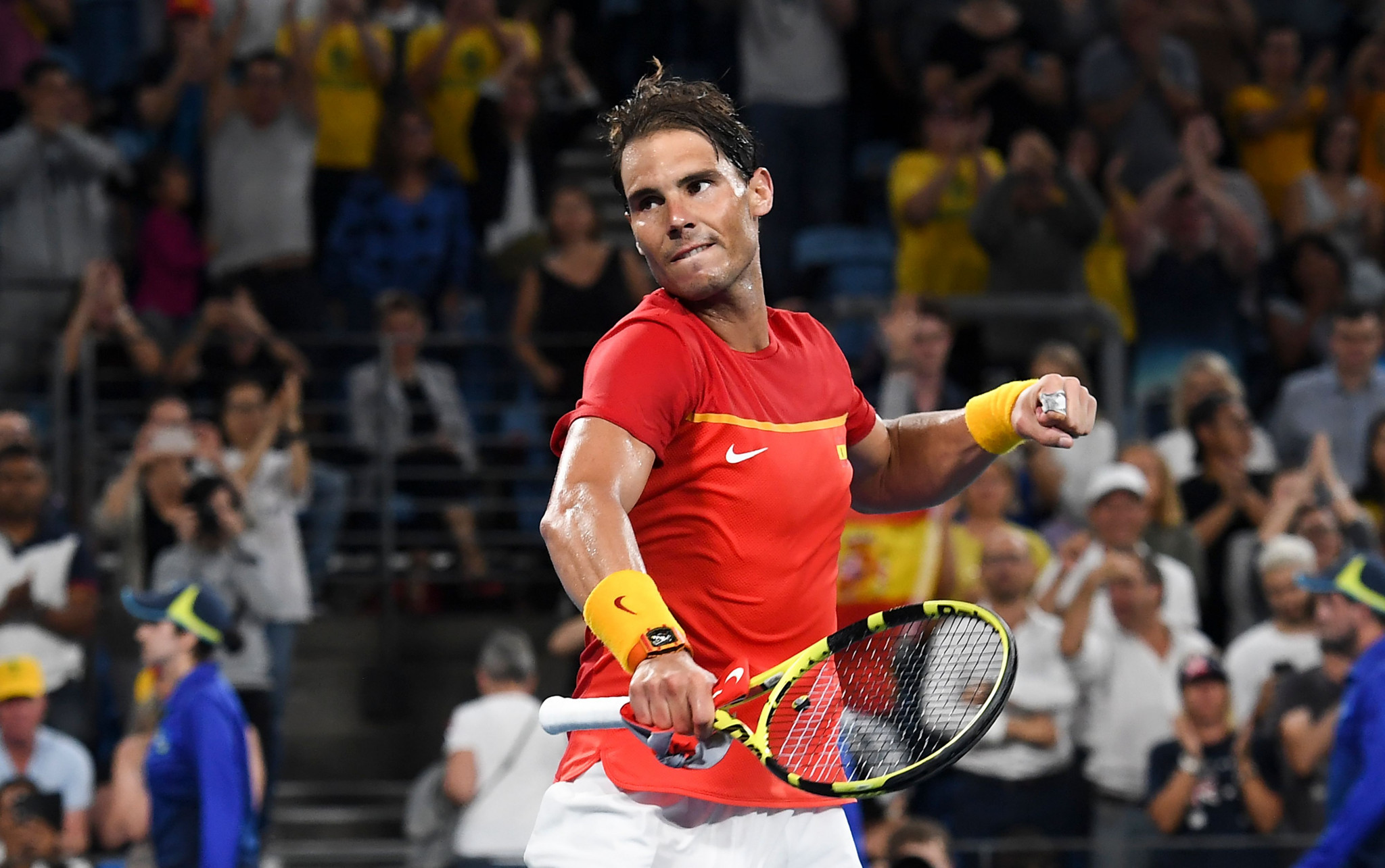 Nadal win ends Australia challenge and earns ATP Cup final place for Spain
