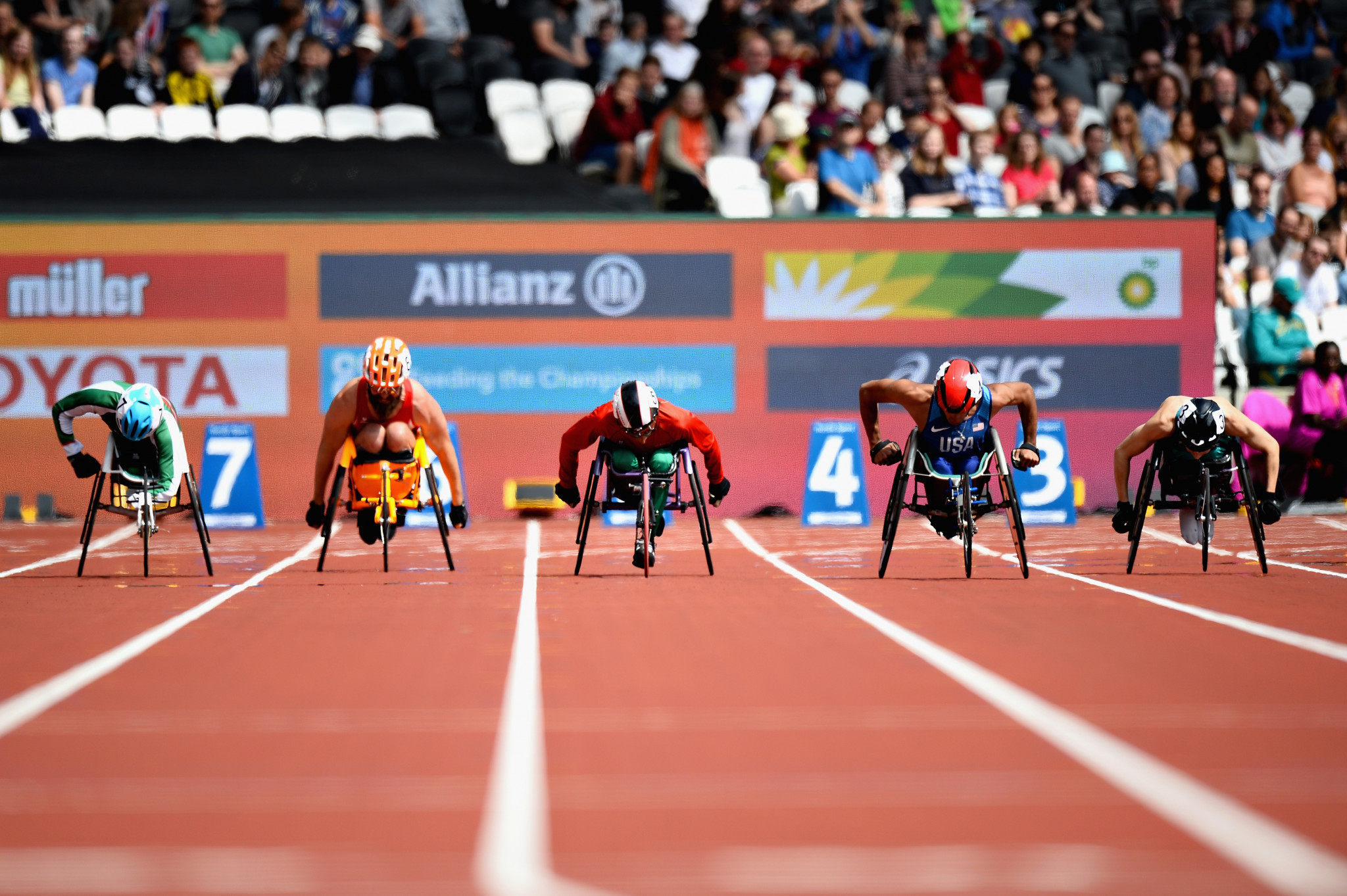 More than 300,000 tickets were sold for the 2017 IPC World Para Athletics Championships in London but the momentum has been lost by UK Athletics since ©Getty Images