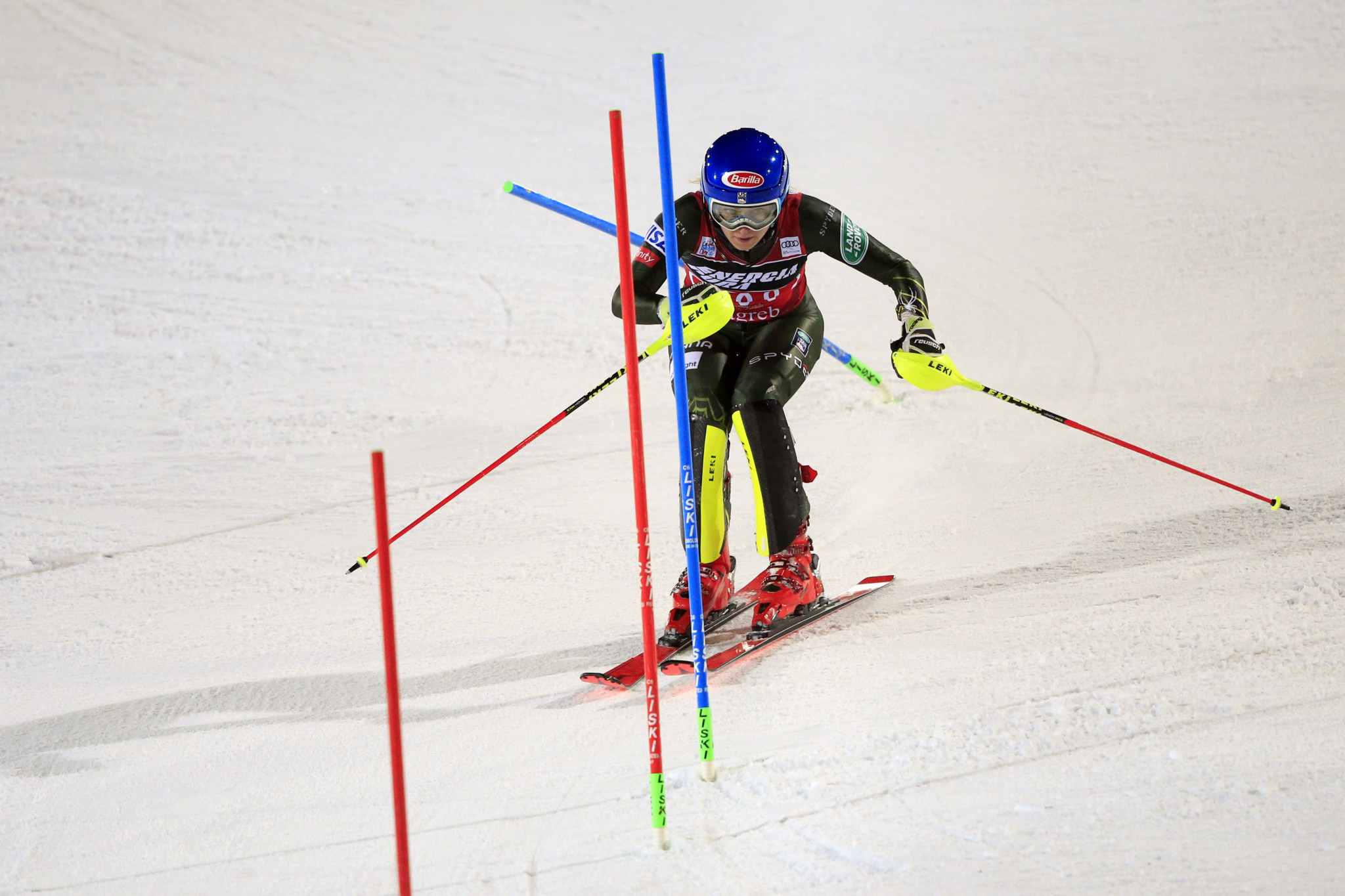 Mikaela Shiffrin was named female athlete of the month for December ©Getty Images