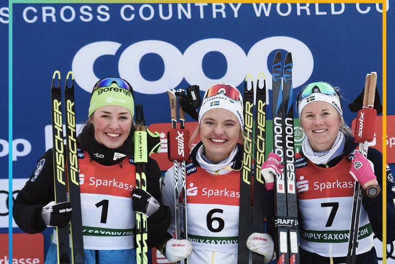 Svahn sprints to glory at FIS Cross-Country World Cup in Dresden