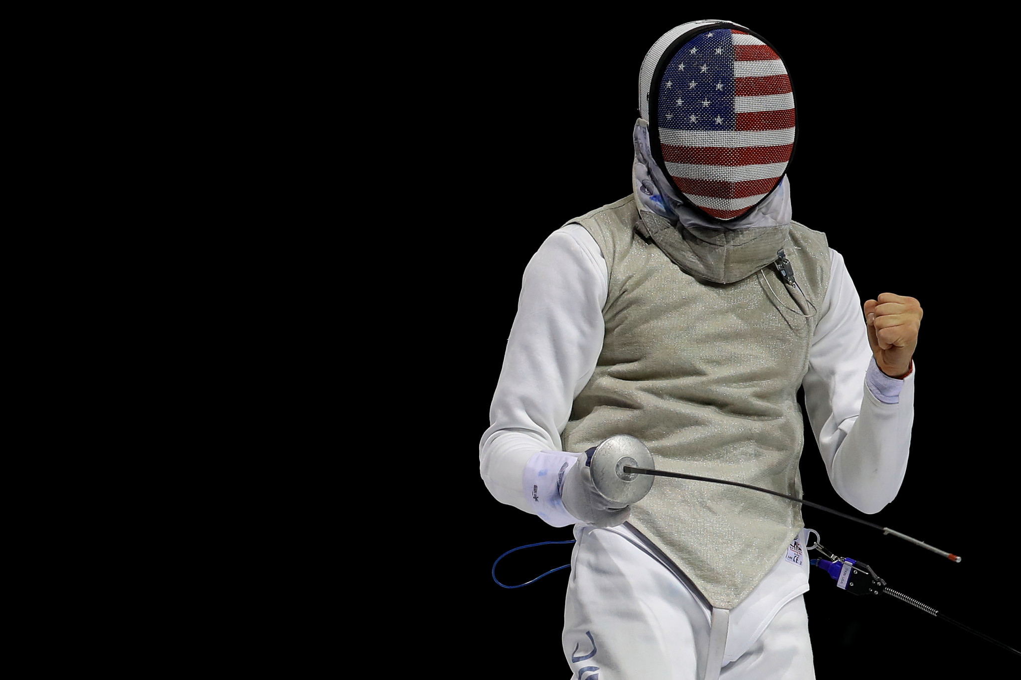 Nick Itkin of the US won gold at the Men's Foil World Cup in Paris ©Getty Images