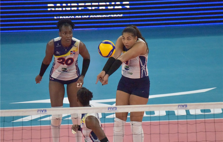 Dominican Republic's women will play Puerto Rico on home soil in a straight shoot-out for a Tokyo 2020 place ©FIVB
