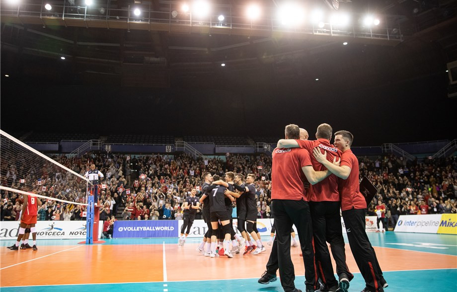Canada's men move to brink of Tokyo 2020 after five-set thriller at Olympic volleyball qualifier