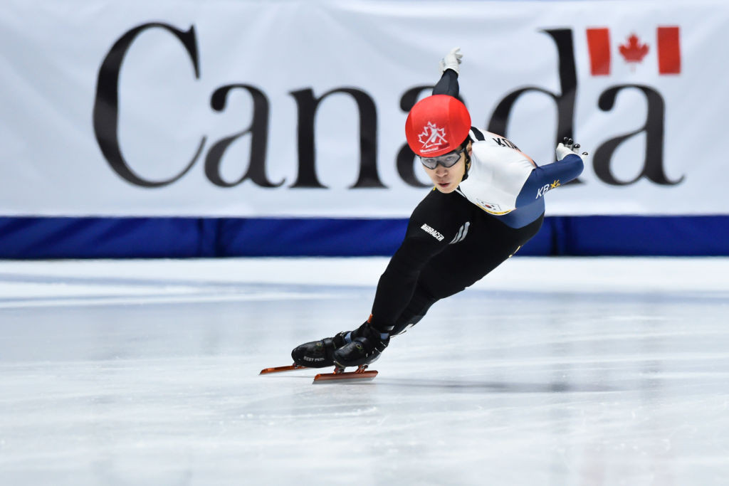 Hwang Dae-heon won gold in both men's events on day one ©ISU