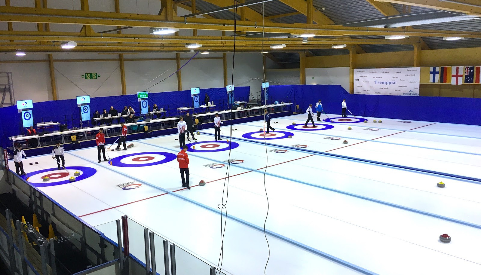 Sixteen teams will compete at the World Curling Federation qualification event in Finland ©Kisakallio Sports Institute