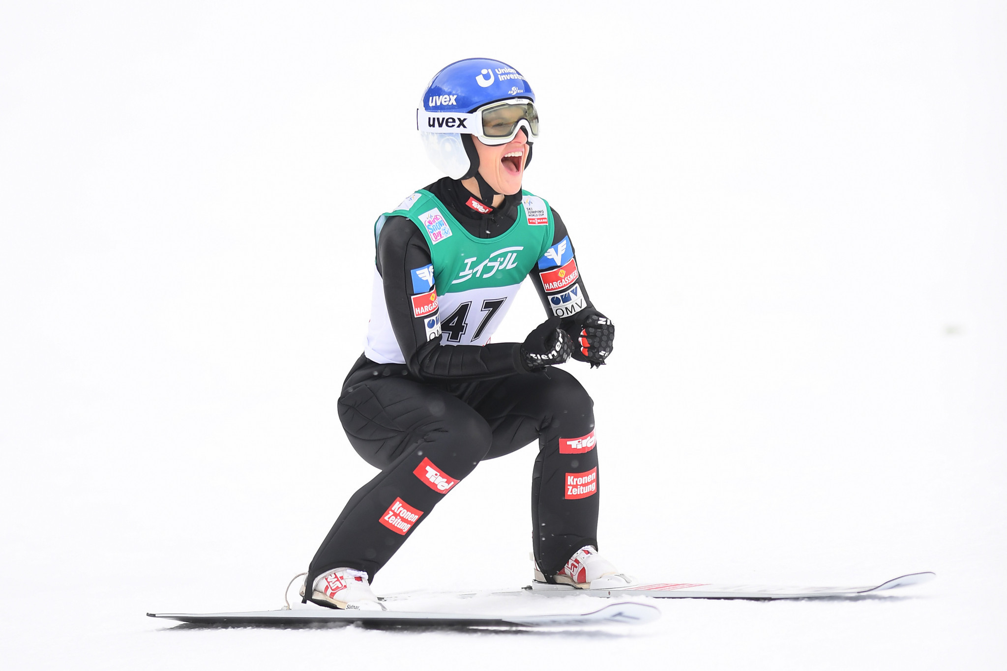 Pinkelnig captures maiden Ski Jumping World Cup title in Sapporo as Lundby breaks hill record