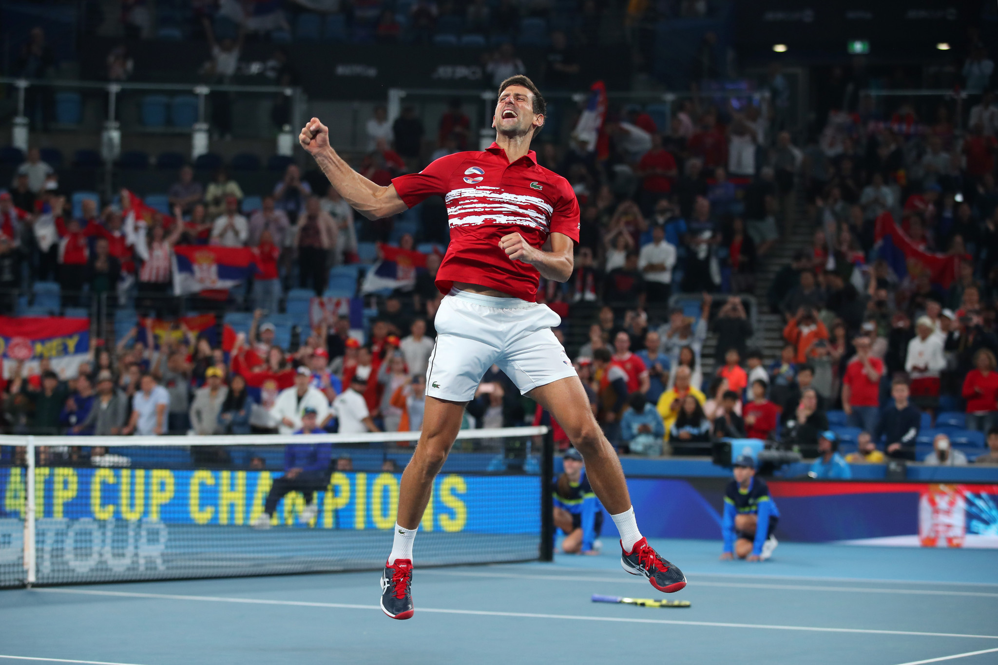 Djokovic beats Nadal as Serbia win inaugural ATP Cup