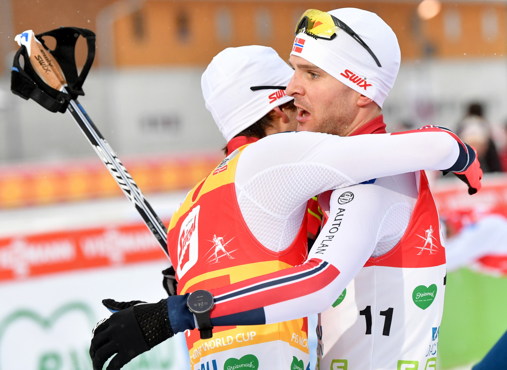 Norway's Graabak and Riiber triumphant in FIS Nordic Combined World Cup men's team sprint