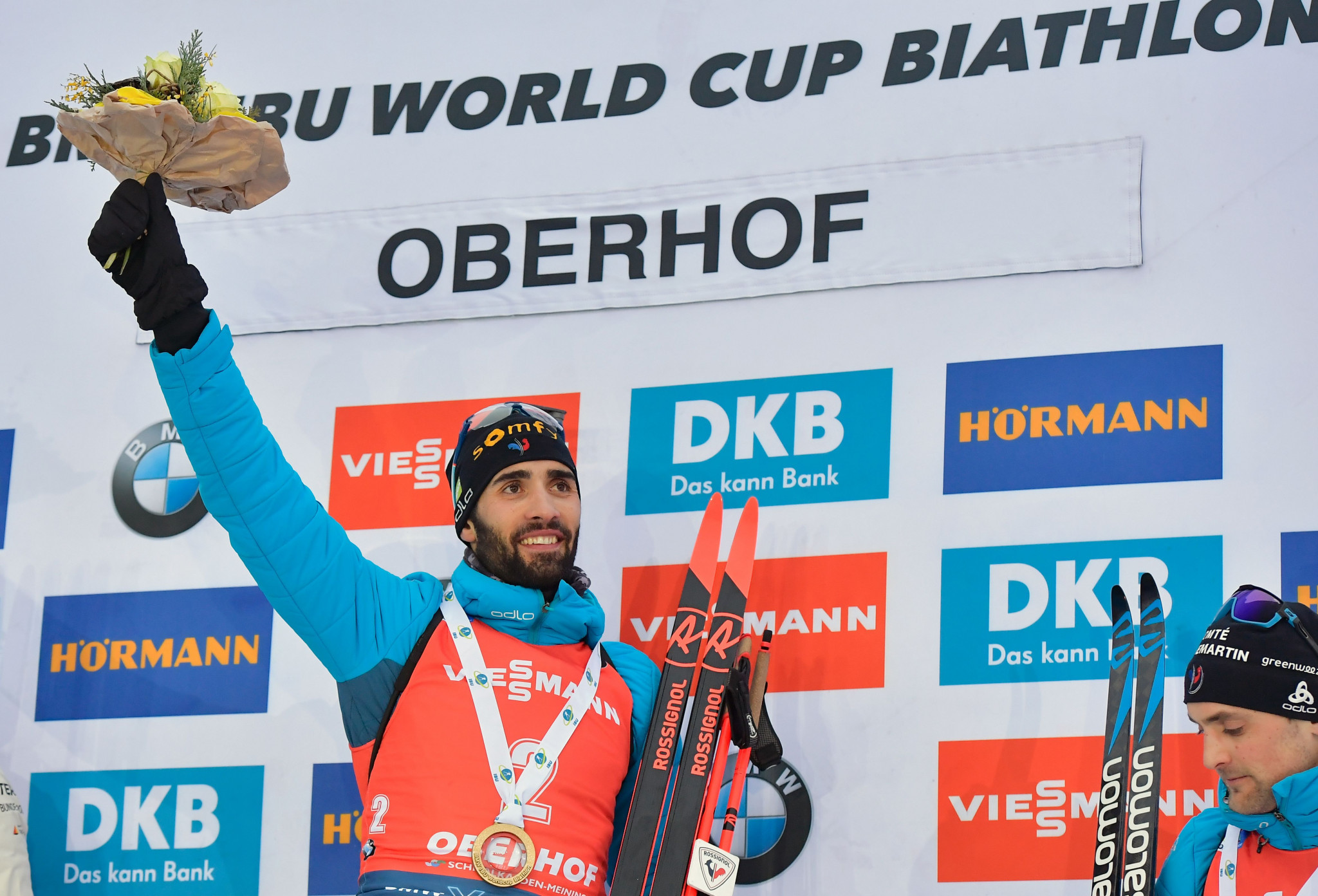 Fourcade and Mäkäräinen win concluding mass start races at IBU World Cup in Oberhof
