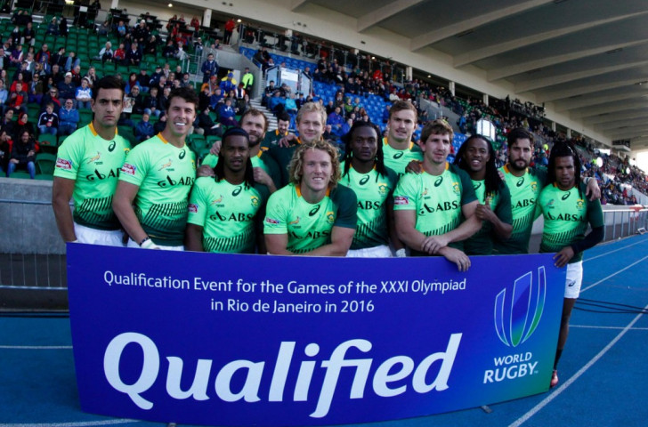 Fiji and South Africa book Rio 2016 places at Sevens World Series in Glasgow
