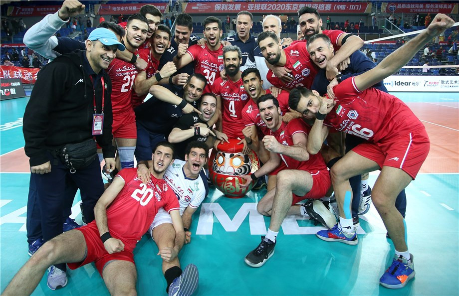Iran's men and South Korea's women book Tokyo 2020 volleyball spots