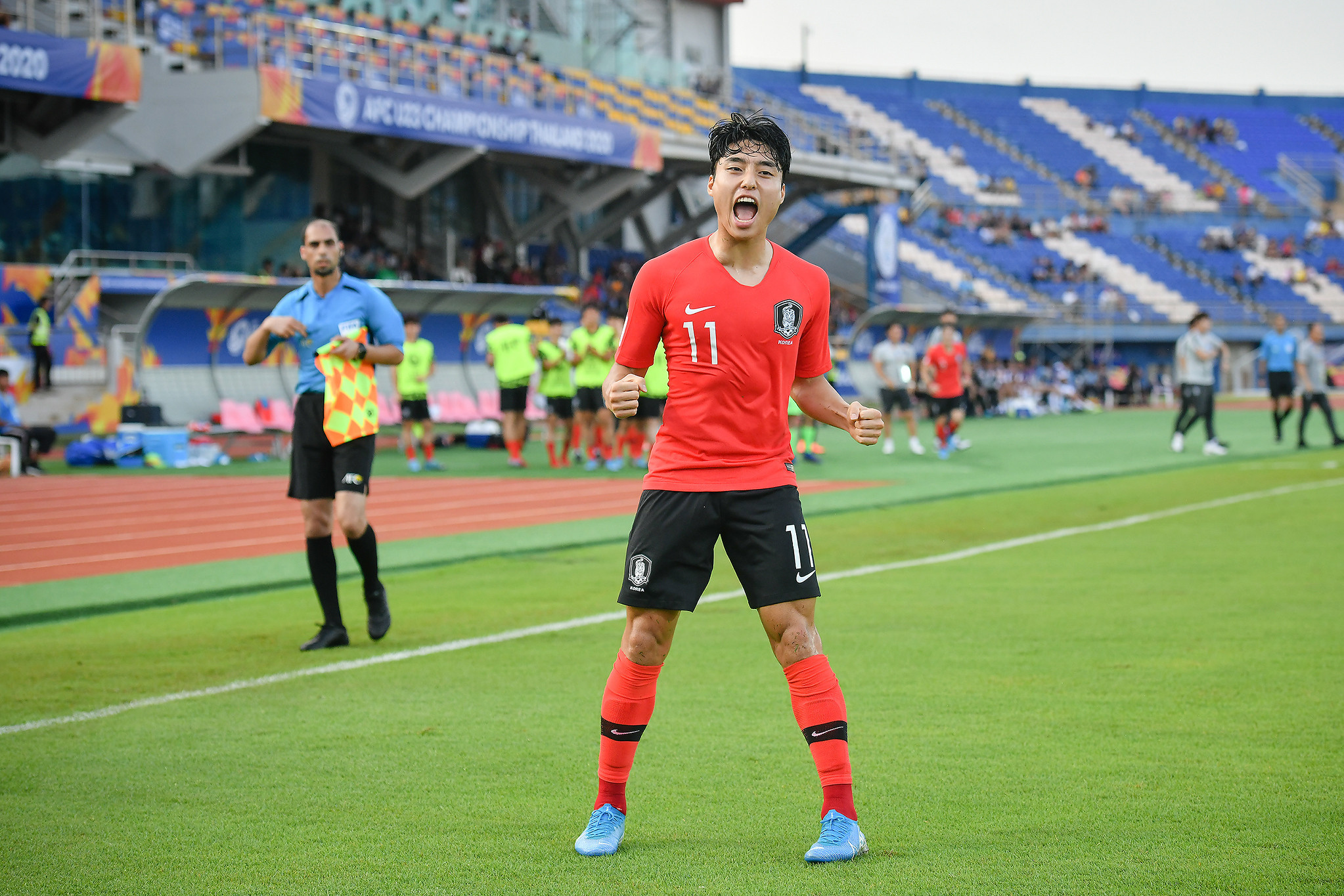 South Korea secure second win to top group at AFC Under-23 Championship