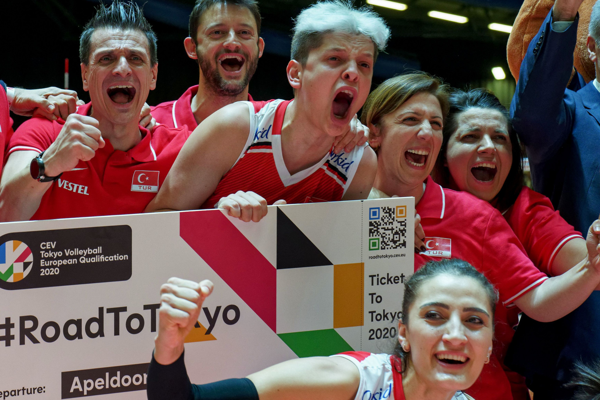 Turkey defeat Germany to book place in women's Tokyo 2020 volleyball competition