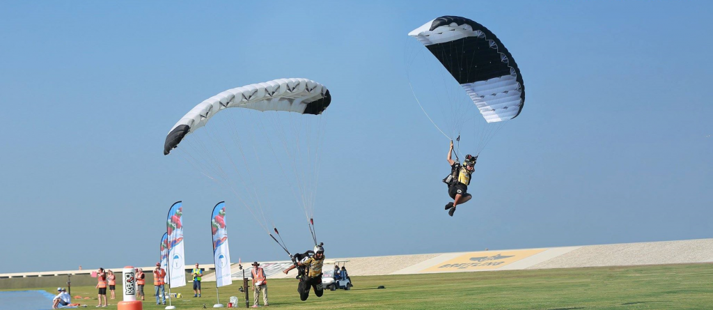 Serbian and Chinese share paragliding accuracy lead at World Air Games