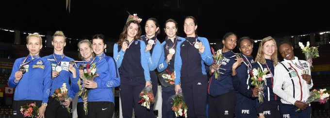 Italy beat Estonia to team gold medal at FIE Women's Épée World Cup in Havana