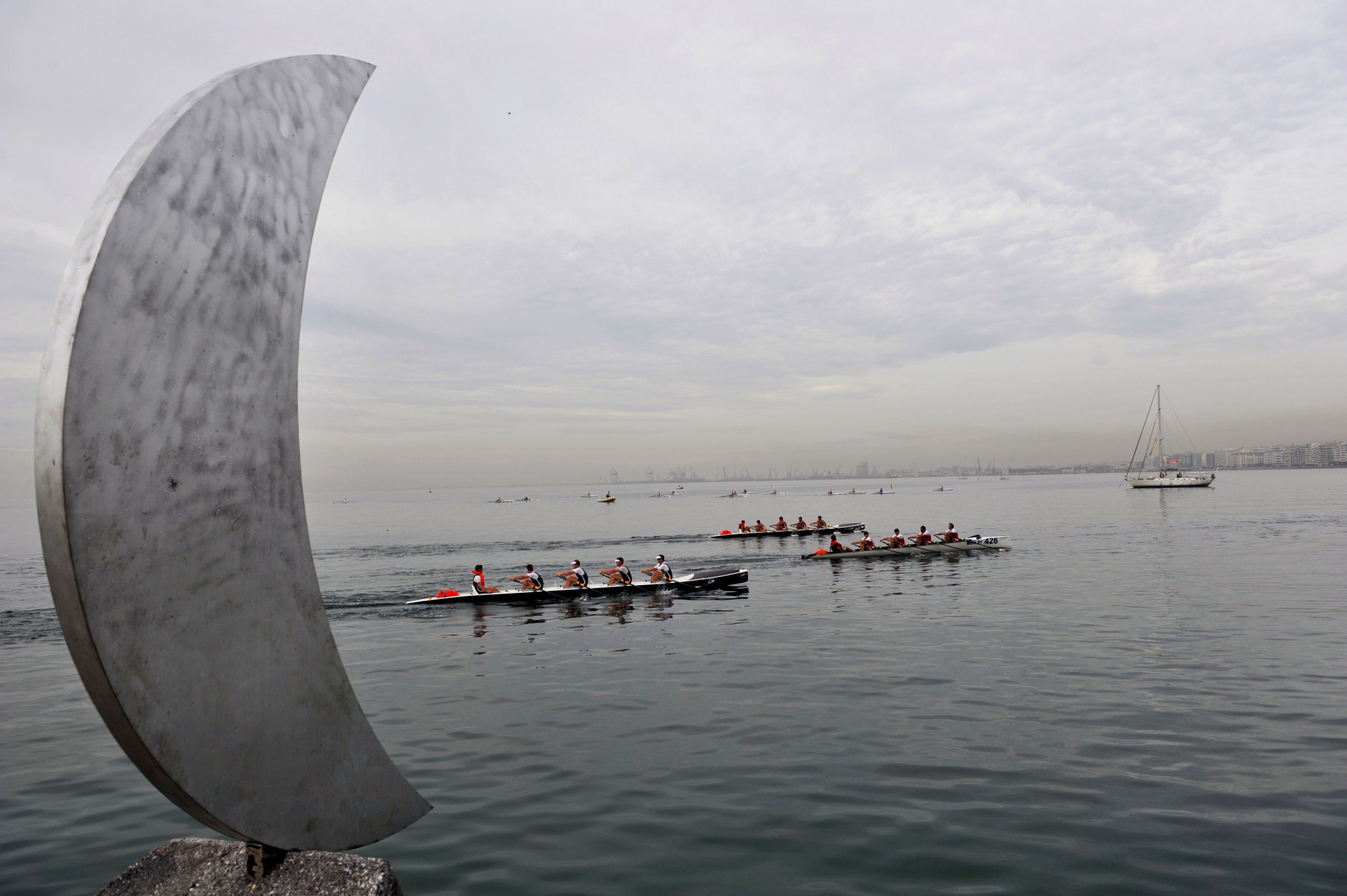 Coastal rowing could feature at Paris 2024 ©Getty Images