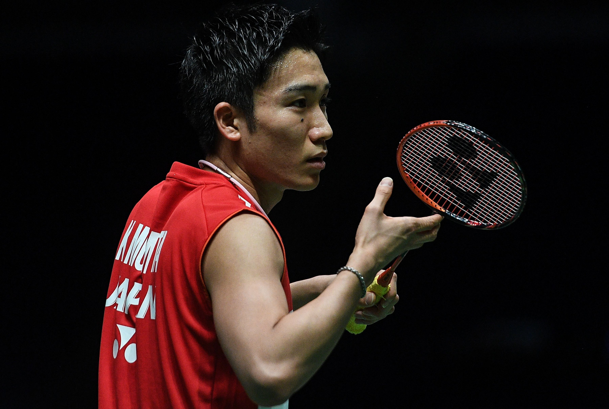 Kento Momota has been injured in a motor vehicle accident in Kuala Lumpur ©Getty Images