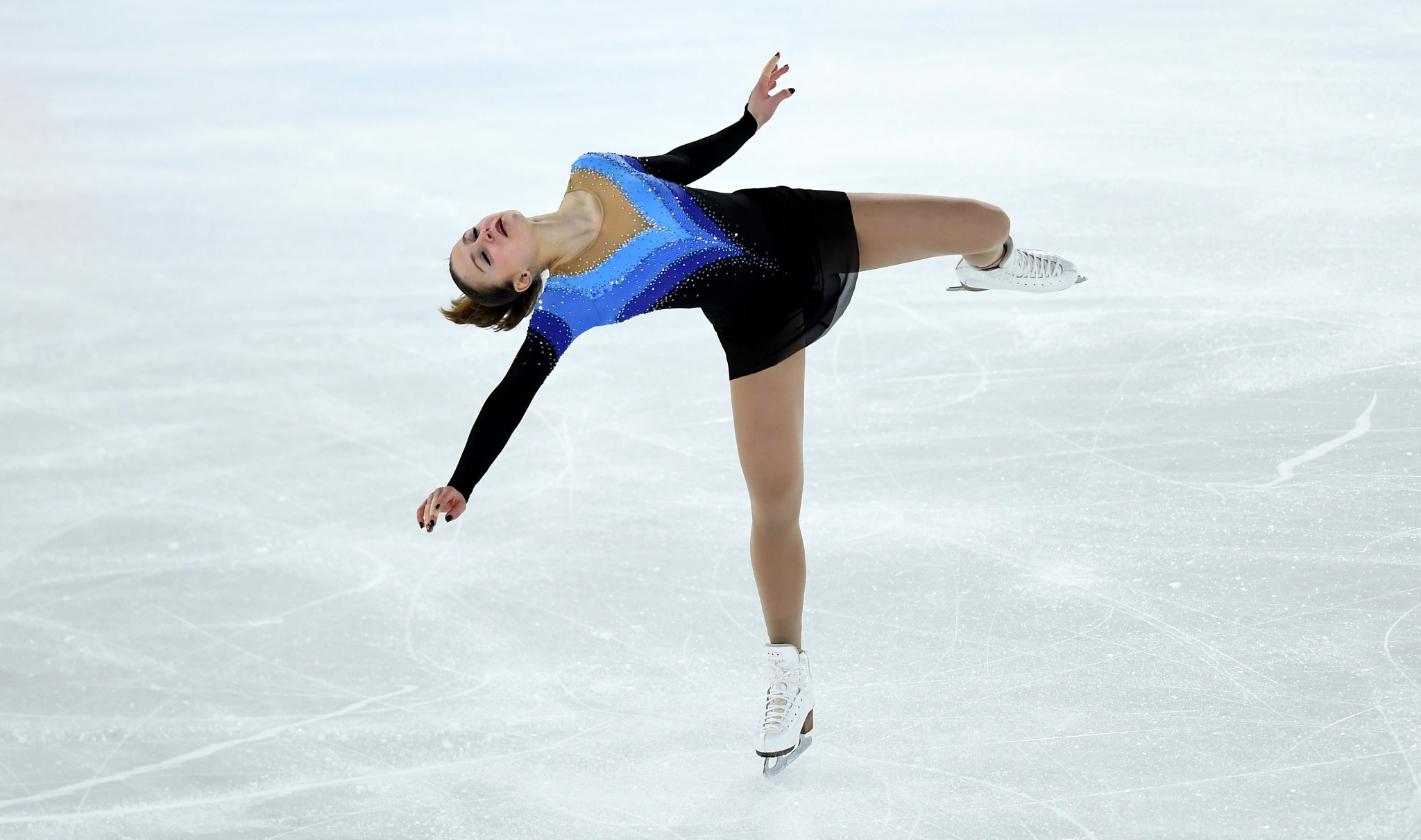 The free skate took place to decide the competition ©Getty Images