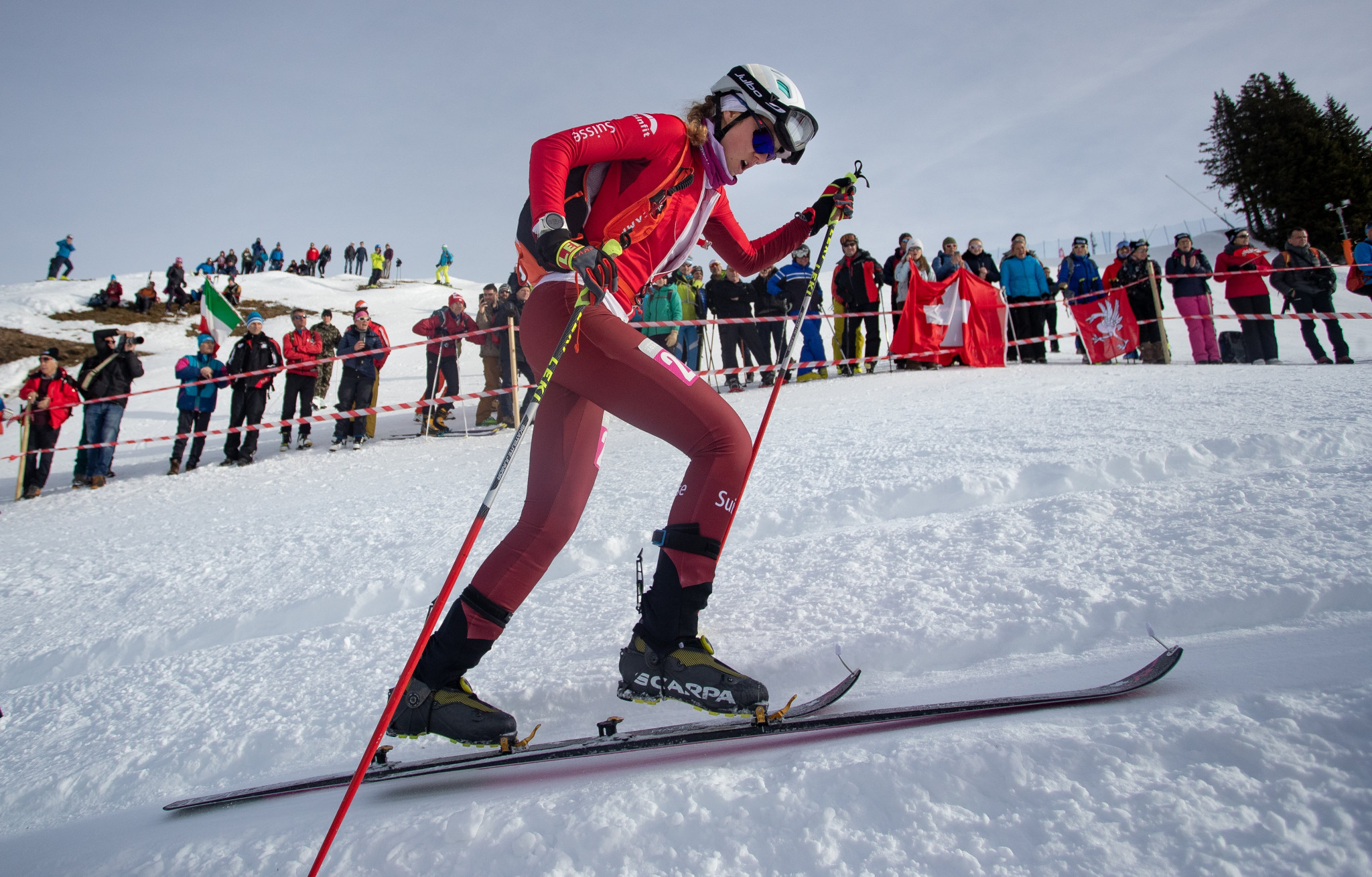 Athletes battled through the rounds of the ski sprint competitions ©Getty Images