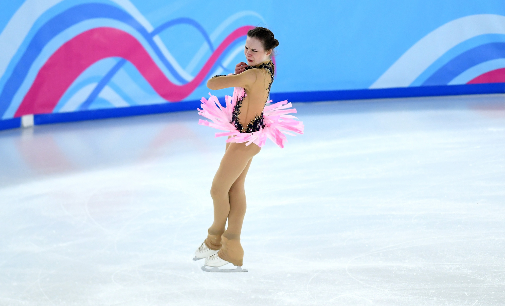 The crowd were very supportive of figure skaters ©Getty Images
