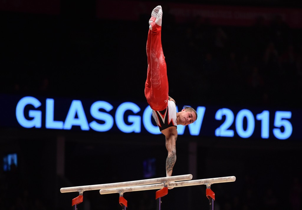 The Artistic Gymnastics World Championships in Glasgow has been named Sporting Event of the Year ©Getty Images
