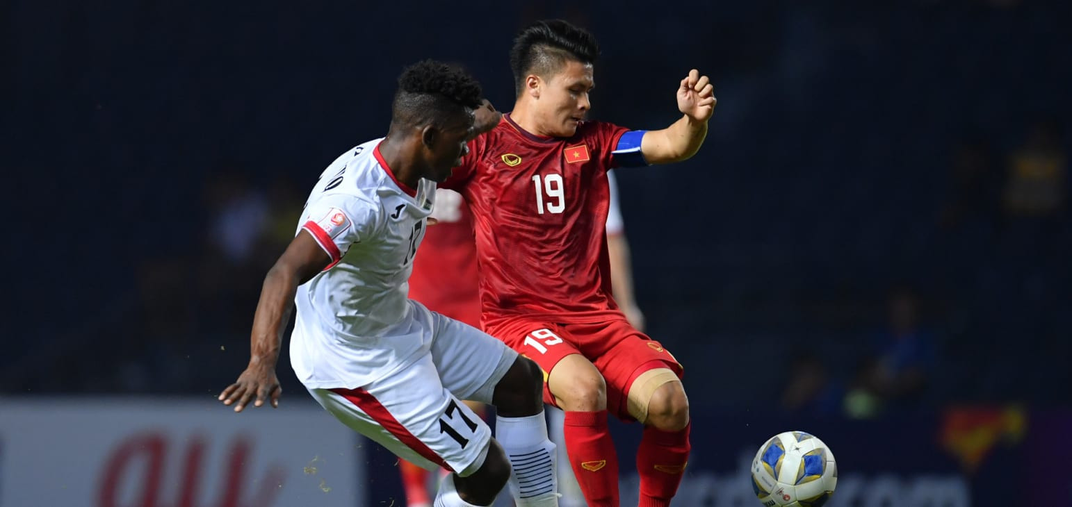 Vietnam and Jordan played out a goalless draw ©AFC