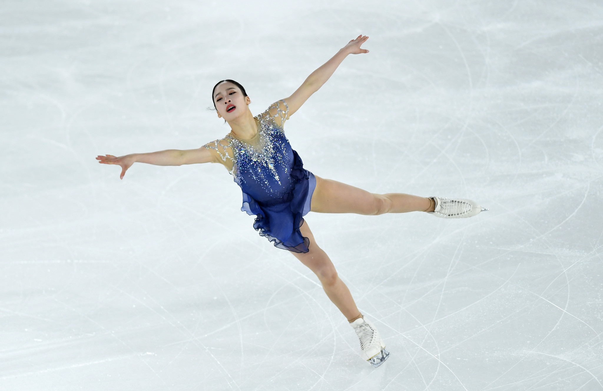 South Korea's You Young triumphed in the women's figure skating competition ©Getty Images