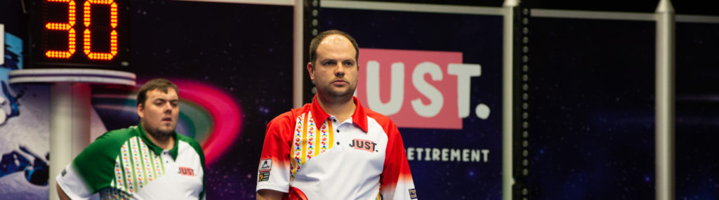 Chestney through to open singles second round at World Indoor Bowls Championships