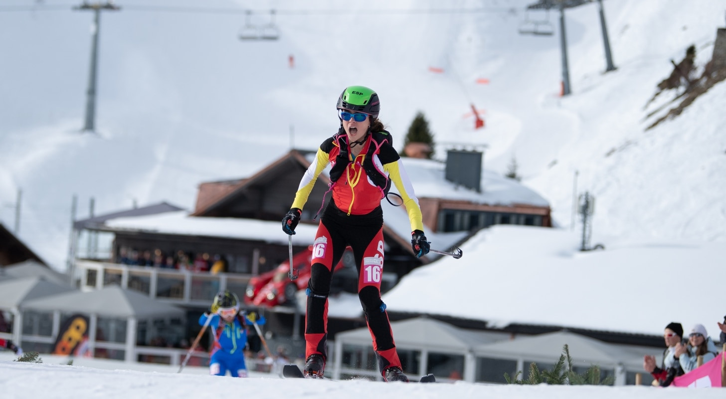 Maria Costa Diez of Spain claimed gold in the women's sprint at Villars Winter Park ©OISphoto