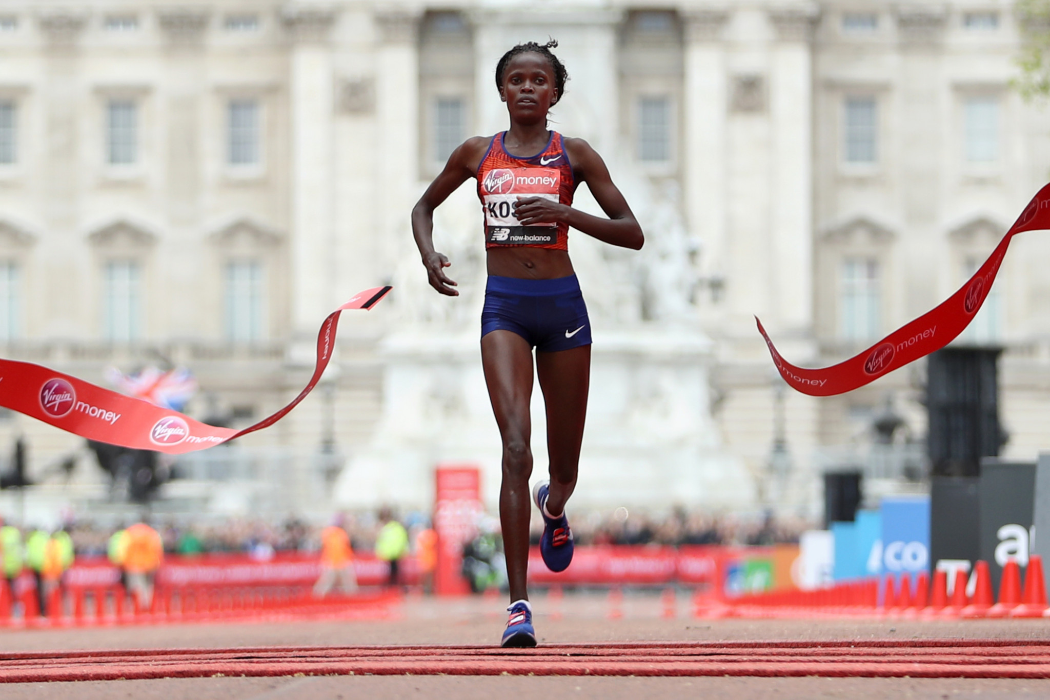 World record holder Kosgei to defend London Marathon title