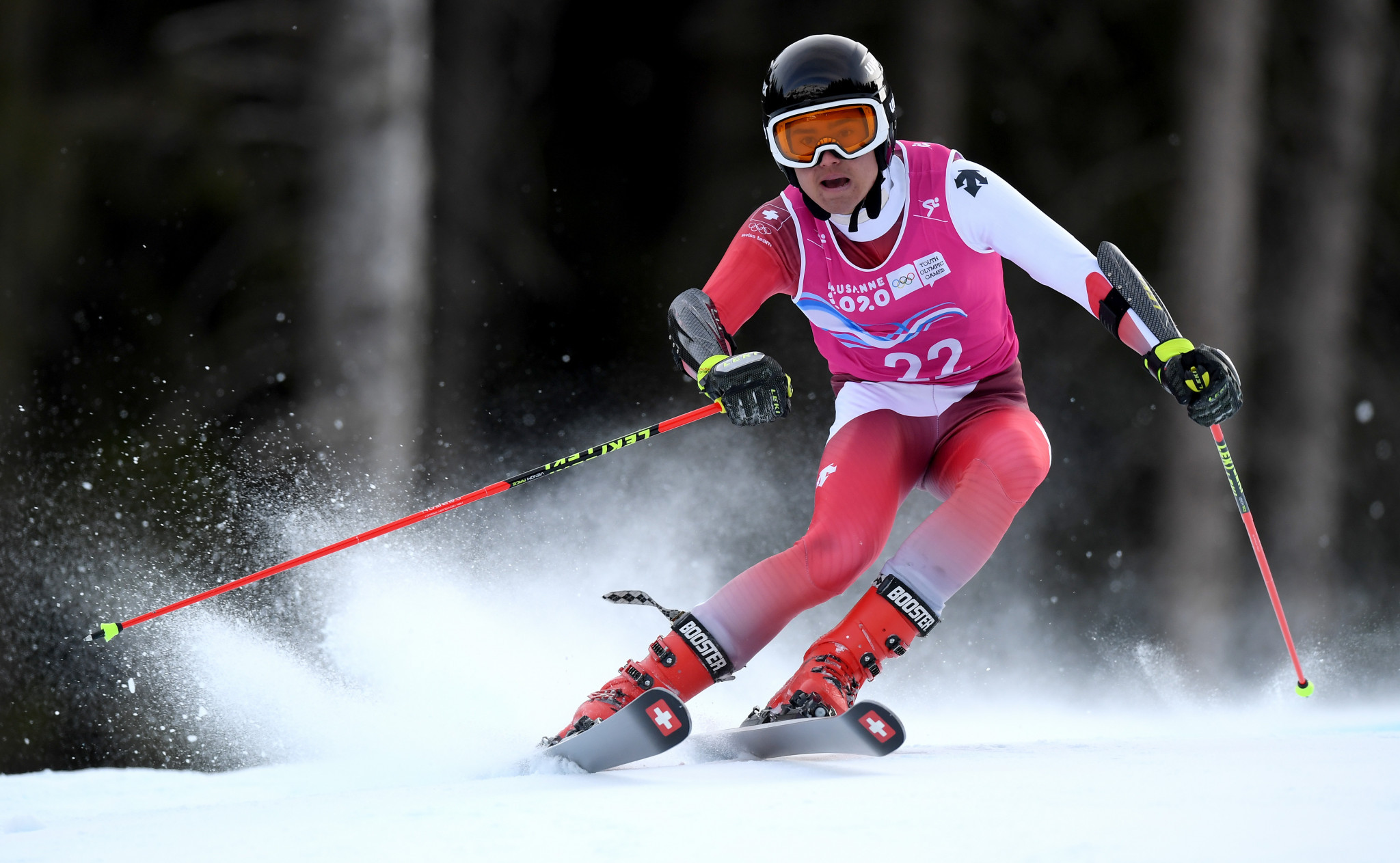 Switzerland's Sandro Zurbruegg finished as the runner-up ©Getty Images