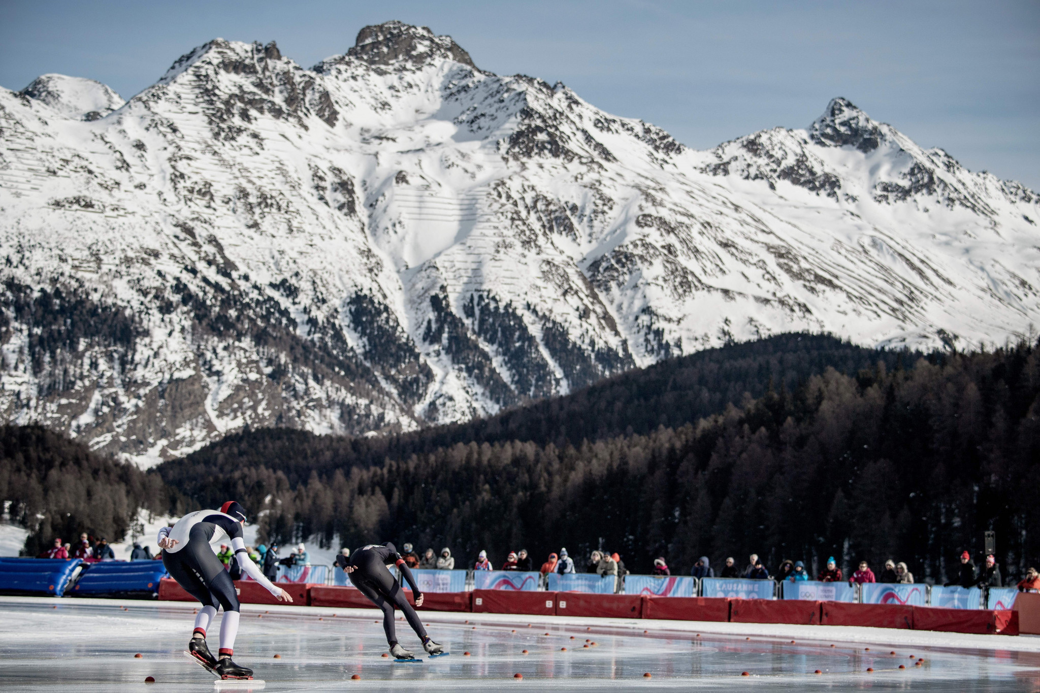 Speed skating competitions continued in St Moritz ©Getty Images