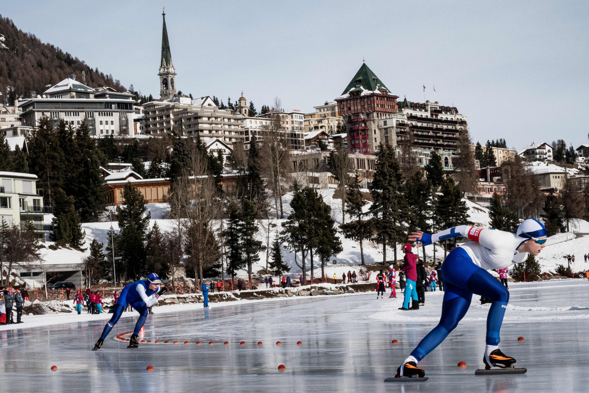 Men's and women's 1500m speed skating titles were earned ©Getty Images