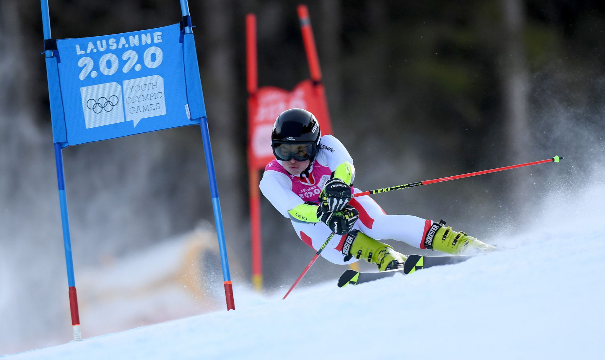 Austria's Phillip Hoffmann earned a dominant win in the men's giant slalom ©Getty Images