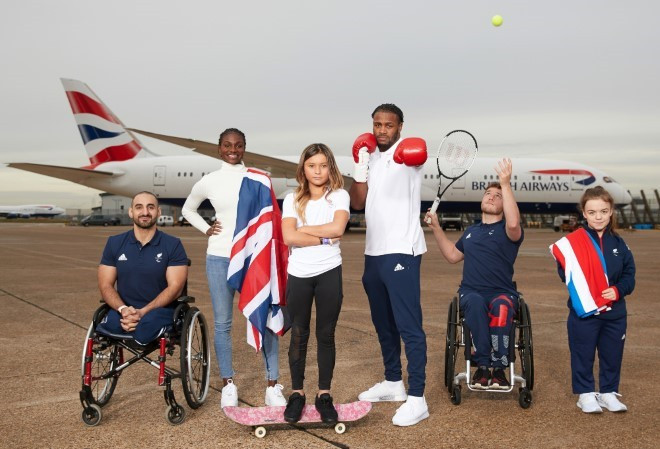 British Airways renew Team GB and ParalympicsGB sponsorship for Tokyo 2020