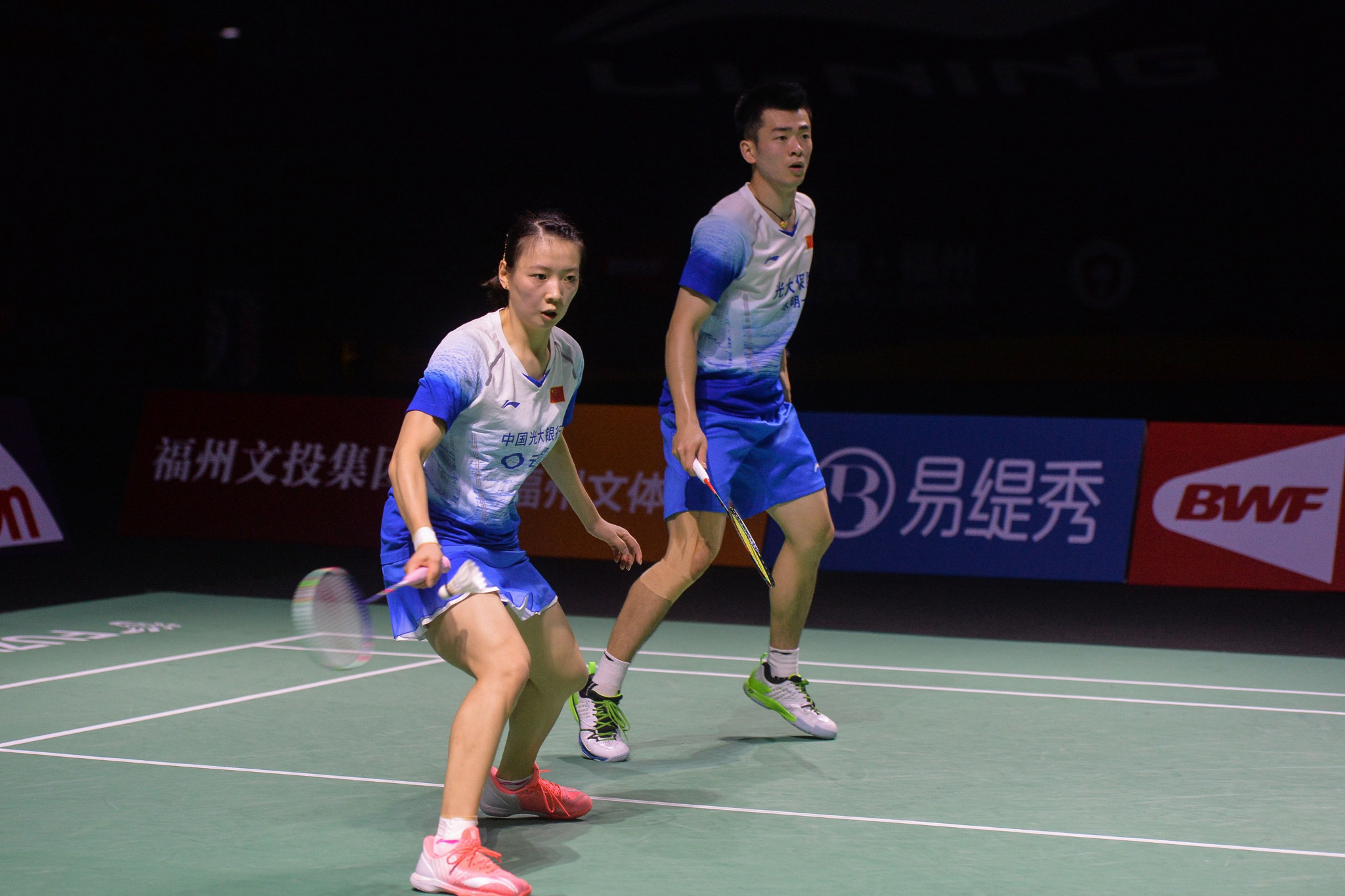 Mixed doubles world champions ease through at BWF Indonesia Masters