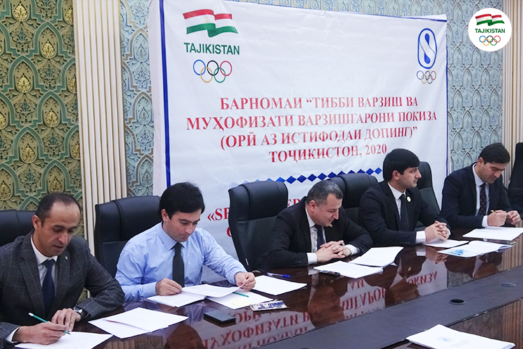 National Olympic Committee of Tajikistan hold three-day doping seminar