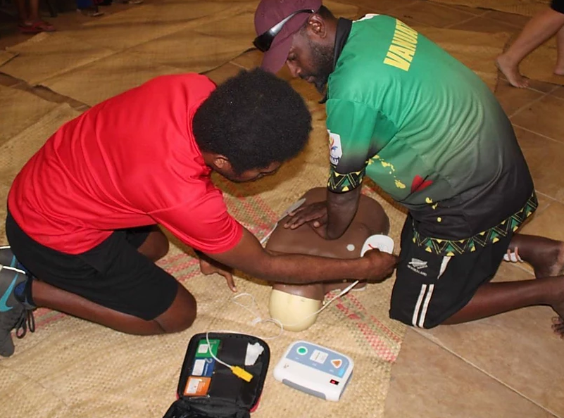 The injury prevention course follows a session on first aid last year ©VASANOC