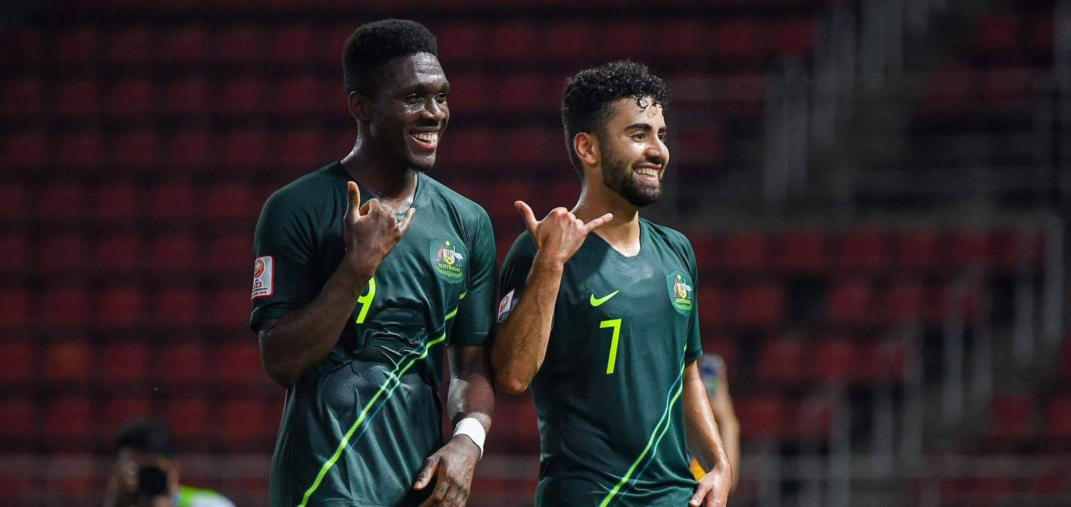 Australia and Thailand reach last eight at AFC Under-23 Championship