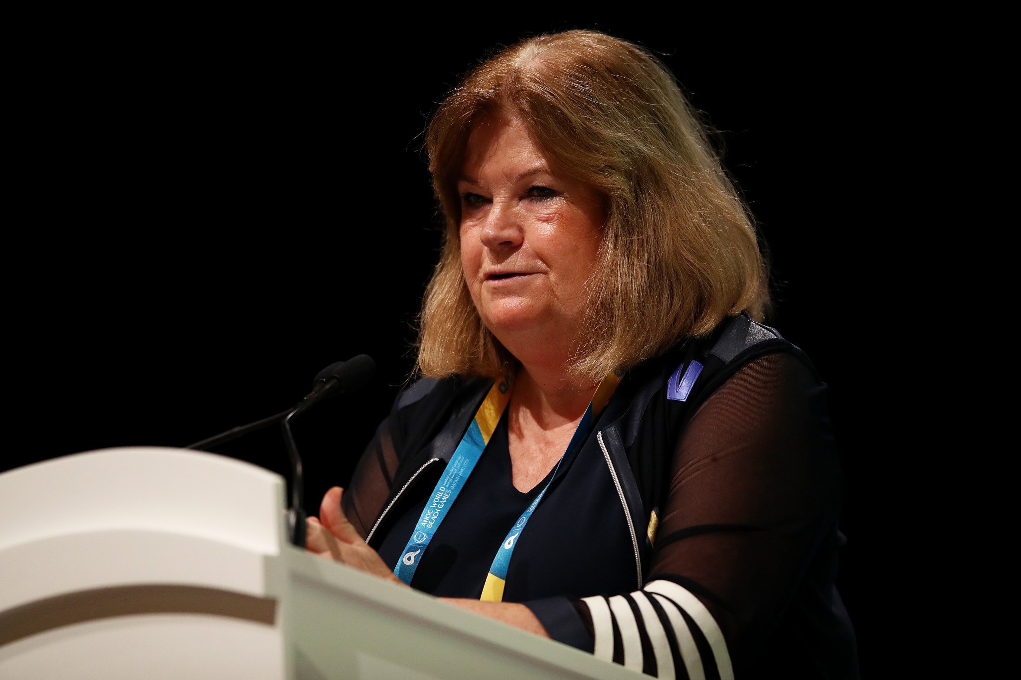 ANOC secretary general Gunilla Lindberg said in October the organisation could award the 2021 Games early this year ©Getty Images