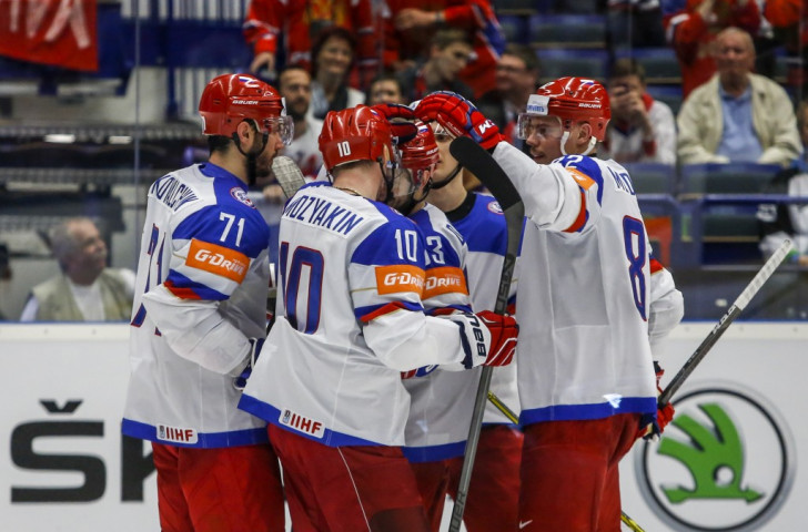 Defending champions Russia return to form by thrashing Belarus at Ice Hockey World Championships