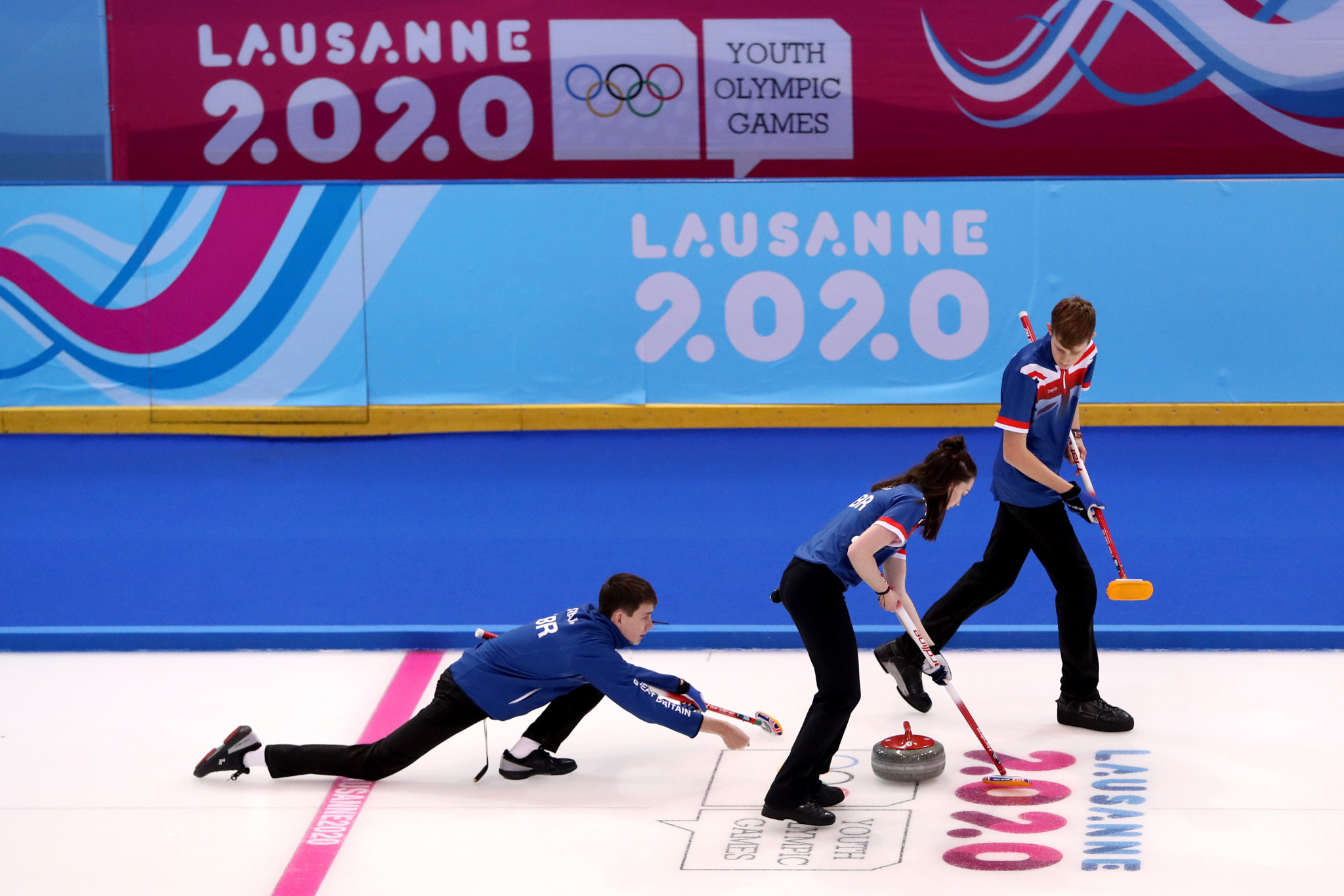 The round-robin stage of the mixed curling competition concluded ©Getty Images